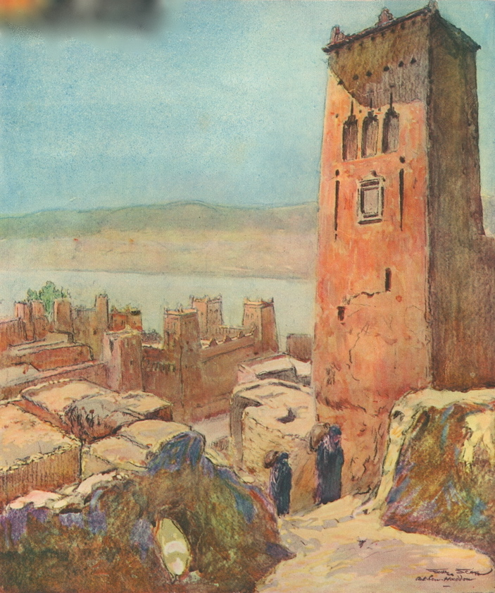 At_Ben_Haddou._Georges_Scott_Lillustration