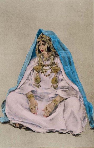 femme juive de Beni Sbih d'Ait Atta Mhamid