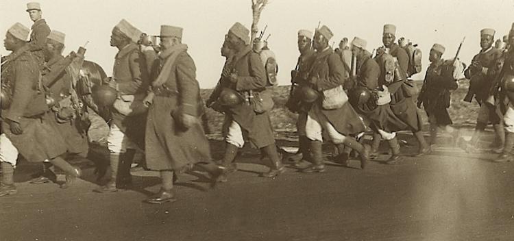 Ouarzazate - Les tirailleurs sénégalais